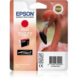 Epson Flamingo Yksittäispakkaus, punainen T0877 Ultra Gloss High-Gloss 2