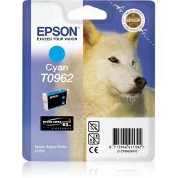 Epson Husky Yksittäispakkaus, syaani T0962