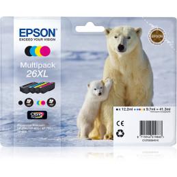 Epson Polar bear Monipakkaus, 4 väriä 26XL Claria Premium -muste