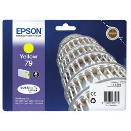 Epson Tower of Pisa Singlepack Yellow 79 DURABrite Ultra Ink
