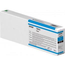 Epson Singlepack Cyan T804200 UltraChrome HDX HD 700ml