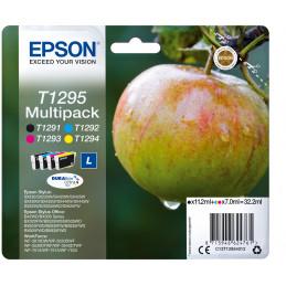 Epson Apple Monipakkaus, 4 väriä T1295 DURABrite Ultra -muste