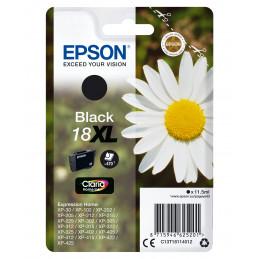 Epson Daisy Yksittäispakkaus, musta 18XL Claria Home -muste