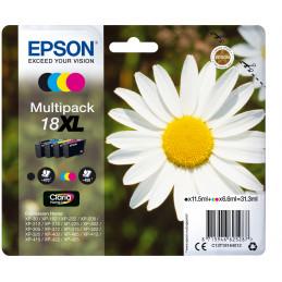 Epson Daisy Monipakkaus, 4 väriä 18XL Claria Home -muste