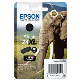 Epson Elephant Yksittäispakkaus, musta 24XL Claria Photo HD -muste