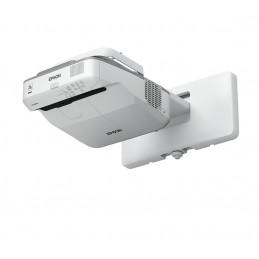 Epson EB-685Wi dataprojektori Seinäkiinnitetty projektori 3500 ANSI lumenia 3LCD WXGA (1280x800) Harmaa, Valkoinen