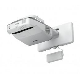 Epson EB-695Wi dataprojektori Seinäkiinnitetty projektori 3500 ANSI lumenia 3LCD WXGA (1280x800) Harmaa, Valkoinen