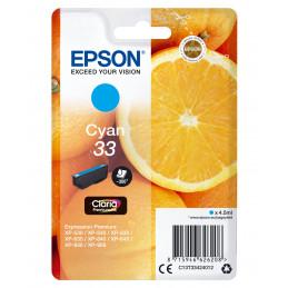 Epson Oranges Singlepack Cyan 33 Claria Premium Ink