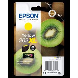 Epson Kiwi Singlepack Yellow 202XL Claria Premium Ink
