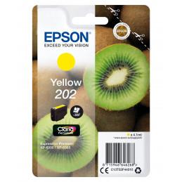 Epson Kiwi Singlepack Yellow 202 Claria Premium Ink