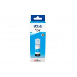 Epson 102 EcoTank Cyan ink bottle