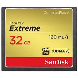 SanDisk 32GB Extreme flash-muisti CompactFlash