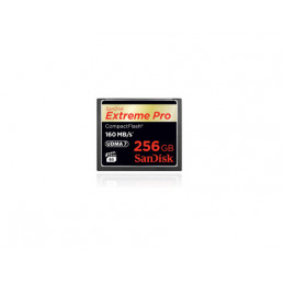 SanDisk Extreme PRO, 256GB flash-muisti CompactFlash