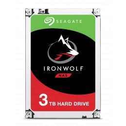 """Seagate IronWolf ST3000VN007 sisäinen kiintolevy 3.5"""" 3000 GB Serial ATA III"""