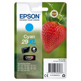 Epson Strawberry Singlepack Cyan 29XL Claria Home Ink