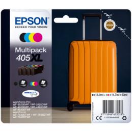 Epson 405XL DURABrite Ultra 4 kpl Alkuperäinen Musta, Syaani, Magenta, Keltainen