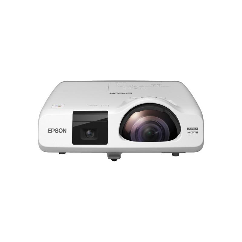 Epson EB-536Wi dataprojektori Pöytäprojektori 3400 ANSI lumenia 3LCD WXGA (1280x800) Valkoinen