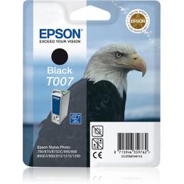 Epson Eagle Yksittäispakkaus, musta T007