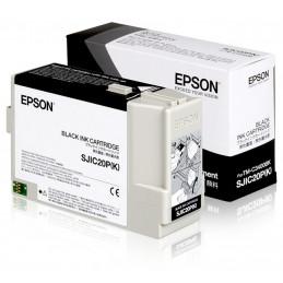 Epson SJIC20P(K) MUSTA -mustepatruuna TM-C3400BK-tulostimeen