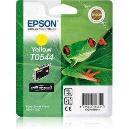 Epson Frog Yksittäispakkaus, keltainen T0544 UltraChrome Hi-Gloss