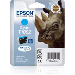 Epson Rhino Yksittäispakkaus, syaani T1002 DURABrite Ultra -muste