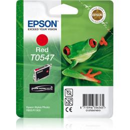 Epson Yksittäispakkaus, punainen T0547 UltraChrome Hi-Gloss