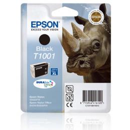 Epson Rhino Yksittäispakkaus, musta T1001 DURABrite Ultra -muste