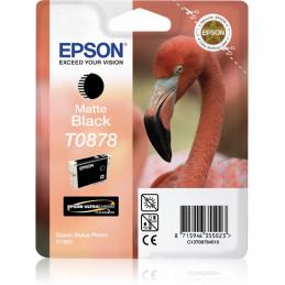 Epson Flamingo Yksittäispakkaus, mattamusta T0878 Ultra Gloss High-Gloss 2