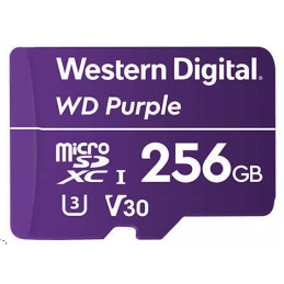 Western Digital Purple flash-muisti 256 GB MicroSDXC
