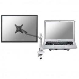 """Newstar FPMA-D300NOTEBOOK monitorin kiinnike ja jalusta 68,6 cm (27"""") Hopea"""