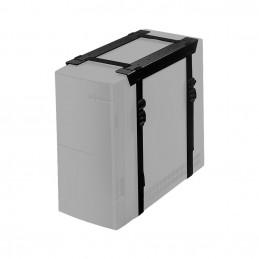 Newstar CPU-D025 Pöydälle asennettava keskusyksikköteline Musta