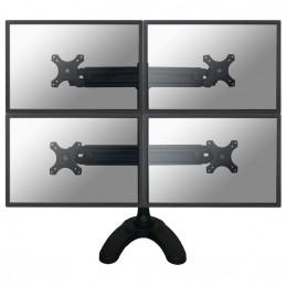 "Newstar FPMA-D700DD4 monitorin kiinnike ja jalusta 76,2 cm (30"") Musta"