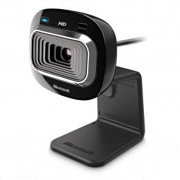 Microsoft LifeCam HD-3000 verkkokamera 1 MP 1280 x 720 pikseliä USB 2.0 Musta
