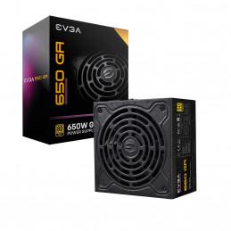 EVGA SuperNOVA 650 GA virtalähdeyksikkö 650 W 24-pin ATX ATX Musta