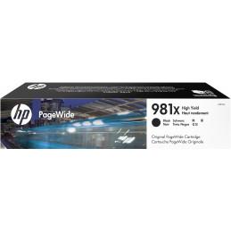 HP 981X mustekasetti Alkuperäinen Korkea (XL) värintuotto Musta