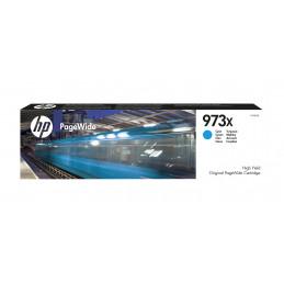 HP 973X mustekasetti Alkuperäinen Korkea (XL) värintuotto Syaani