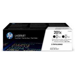 HP 201X värikasetti 2 kpl Alkuperäinen Musta