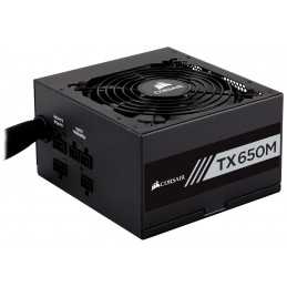 Corsair TX650M virtalähdeyksikkö 650 W 20+4 pin ATX ATX Musta