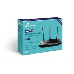 TP-LINK Archer A7 langaton reititin Gigabitti Ethernet Kaksitaajuus (2,4 GHz 5 GHz) Musta