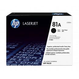HP 81A värikasetti 1 kpl Alkuperäinen Musta