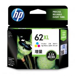 HP 62XL mustekasetti Alkuperäinen Korkea (XL) värintuotto Syaani, Magenta, Keltainen