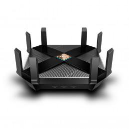 TP-LINK Archer AX6000 langaton reititin Gigabitti Ethernet Kaksitaajuus (2,4 GHz 5 GHz) Musta
