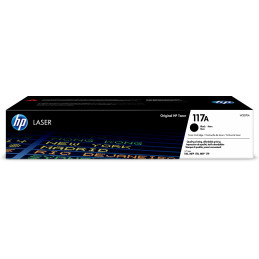 HP 117A värikasetti 1 kpl Alkuperäinen Musta