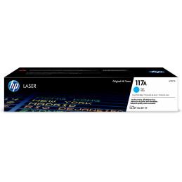 HP 117A värikasetti 1 kpl Alkuperäinen Syaani
