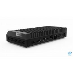 Lenovo ThinkCentre M90n Nano IoT DDR4-SDRAM i3-8145U mini PC 8. sukupolven Intel® Core™ i3 4 GB 128 GB SSD Windows 10 Pro Musta