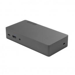 Lenovo Thunderbolt 3 Essential Dock liitäntäkortti -sovitin 3, 5 mm, DisplayPort, HDMI, RJ-45, USB 3.2 Gen 1 (3.1 Gen 1)