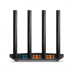 TP-LINK Archer C80 langaton reititin Gigabitti Ethernet Kaksitaajuus (2,4 GHz 5 GHz) Musta