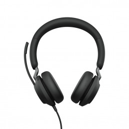 Jabra Evolve2 40, MS Stereo Kuulokkeet Pääpanta USB A-tyyppi Musta