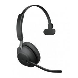Jabra Evolve2 65, MS Mono Kuulokkeet Pääpanta USB A-tyyppi Bluetooth Musta