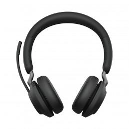 Jabra Evolve2 65, MS Stereo Kuulokkeet Pääpanta USB A-tyyppi Bluetooth Musta